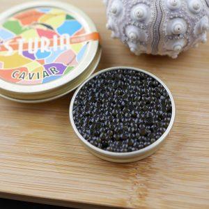 Oscietra Sturgeon caviar